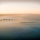 Lensbaby mudflats at sunrise by Mel Brackstone