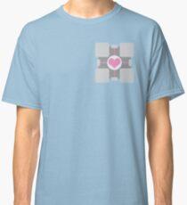 Companion Cube - Portal Classic T-Shirt