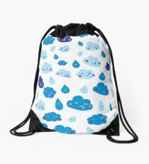 Rain, with a chance of... Drawstring Bag