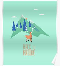 Back to nature Poster