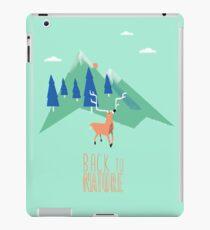 Back to nature Coque et skin iPad