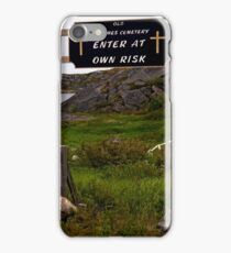 St James' Cemetery iPhone Case/Skin
