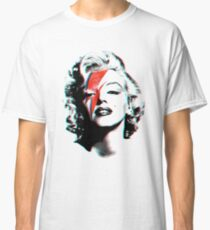 Marilyn Bowie - shirt phone and ipad case Classic T-Shirt