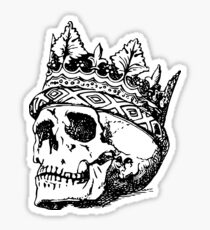 Royal Skull 2 Sticker