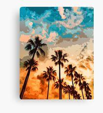 Malibu Beach - Heaven's Sky Canvas Print