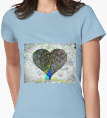 The Inca Peacock Womens Fitted T-Shirt