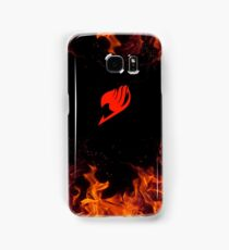 Red fairy tail fire  Samsung Galaxy Case/Skin