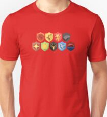 Game of Thrones Shields Unisex T-Shirt