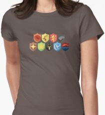 Game of Thrones Shields Womens Fitted T-Shirt
