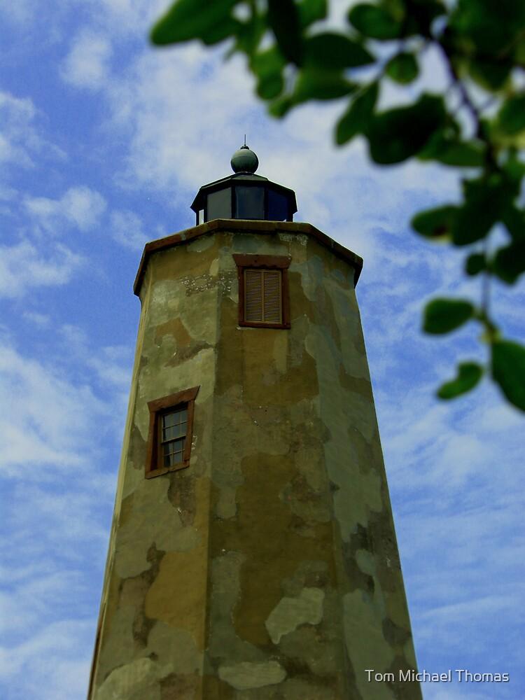 Bald Head Island Lighthouse by Tom Michael Thomas