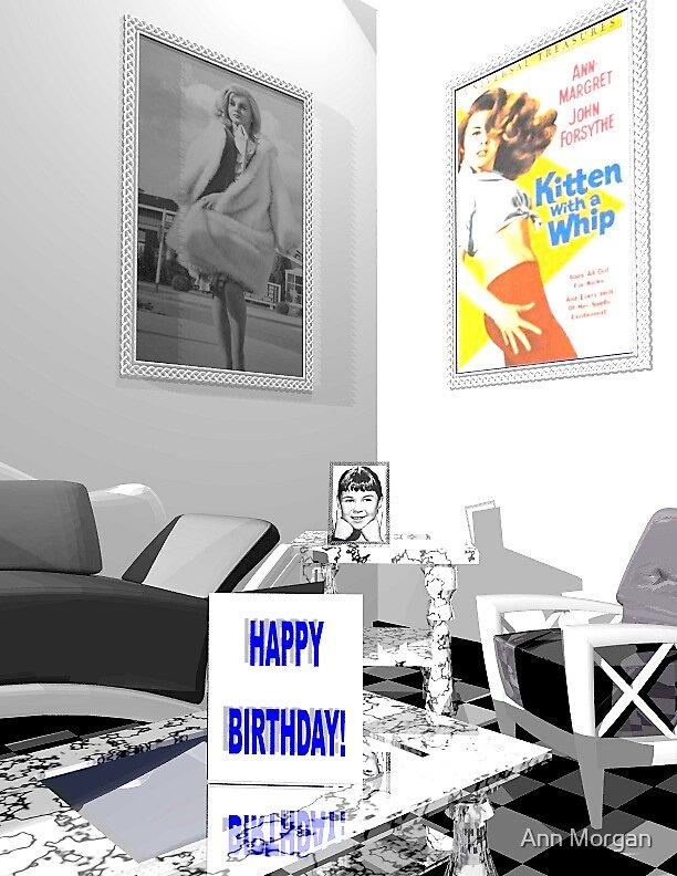 """Kittens""  Happy  Birthday  Wishes by Ann Morgan"
