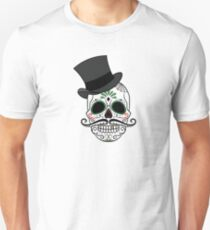 Decorative Skull with Hat T-Shirt