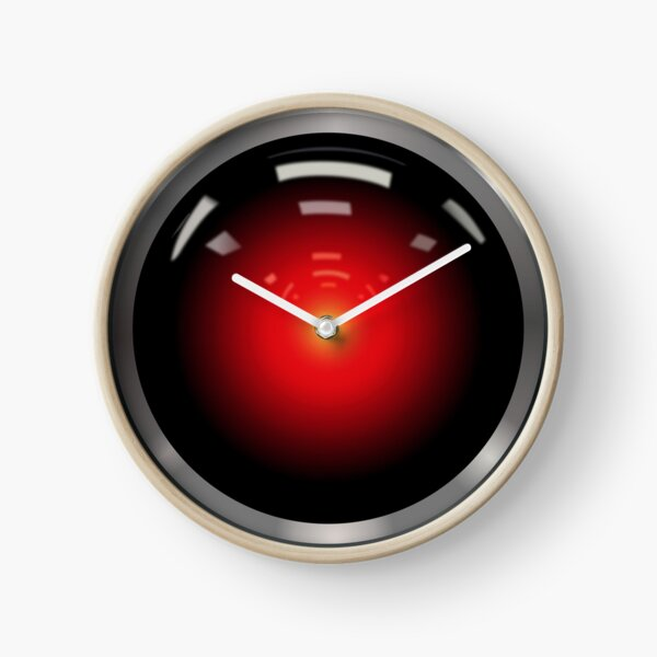 HAL 9000 Clock