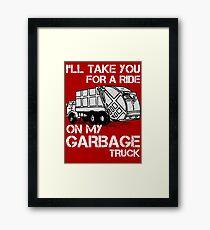 Garbage Truck - Scott Pilgrim Framed Print