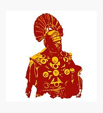 Roman Warrior - Centurion  Photographic Print