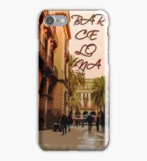 Barcelona Plaza Real iPhone Case/Skin