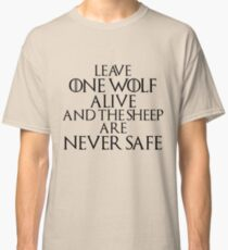 The Sheep are never Safe Classic T-Shirt