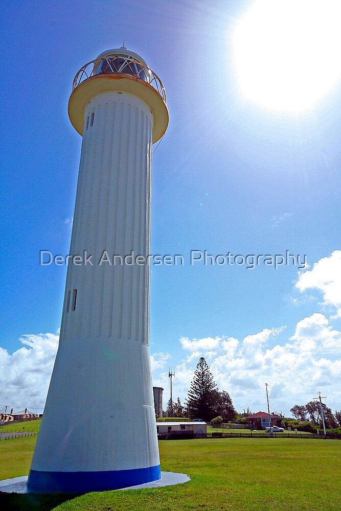 Picturesque Yamba Light House by Derek Andersen Photography