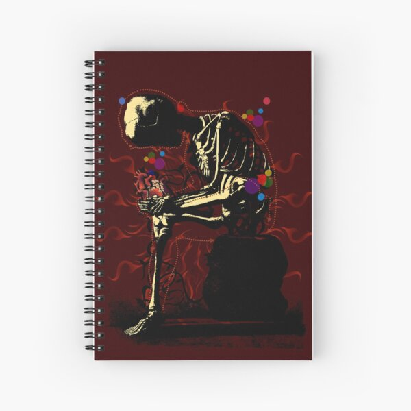 I'm a man of healt and taste... Spiral Notebook