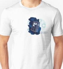 Traveling Through Space and Time Unisex T-Shirt