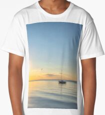 Lonely Boat 3 Long T-Shirt