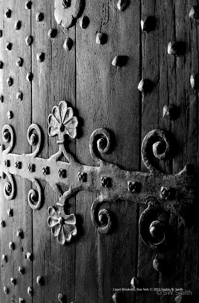 Coe Hall House Antique Door Detail | Upper Brookville, New York  by © Sophie W. Smith