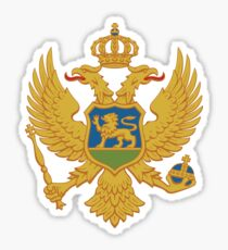Montenegro Coat of Arms Sticker