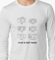 Film Is Not Dead - Vintage Film Photography T-Shirt
