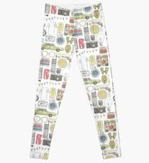 STRANGER THINGS object illustration barb glasses quote eggs 011 upside down demogorgon eleven Leggings