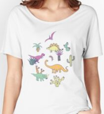 Dinosaur Desert Women's Relaxed Fit T-Shirt
