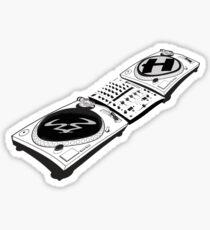 Ram x Hospital records DJ decks Sticker