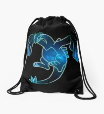 Water Gardian Nébula  Drawstring Bag