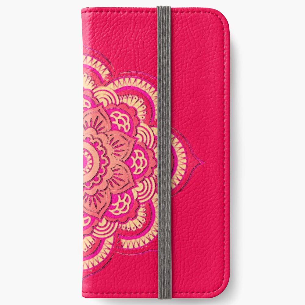 Namaste in Red iPhone Wallet