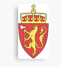 Norway Coat of Arms Canvas Print