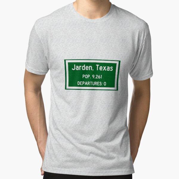Jarden, Texas - Zero Departures Tri-blend T-Shirt