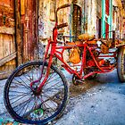 Cuban Bike On Streets Of Havana by Paul Thompson Photography