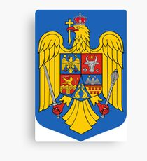 Romania Coat of Arms Canvas Print