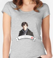 I am Sherlocked Women's Fitted Scoop T-Shirt