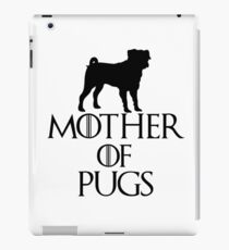 Mother of Pugs iPad Case/Skin