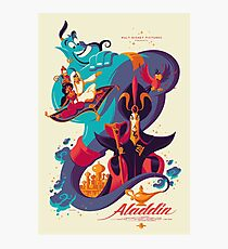 Aladdin Photographic Print