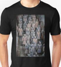 China. Xian. Terracotta Army. T-Shirt