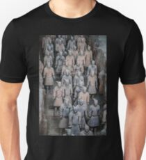 China. Xian. Terracotta Army. Unisex T-Shirt