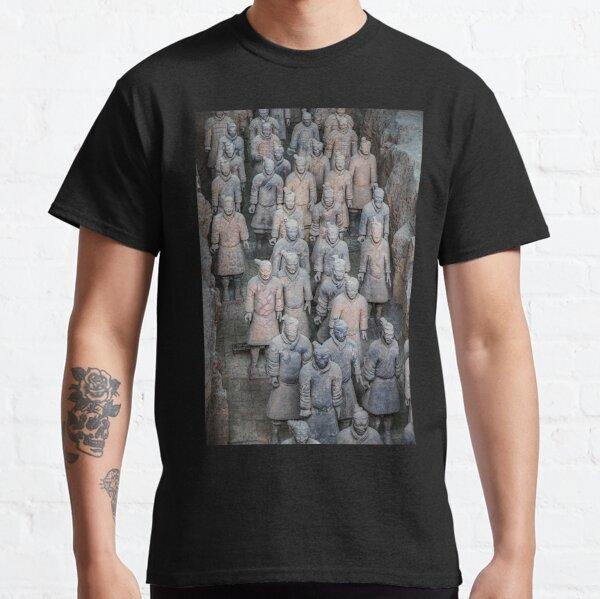 China. Xian. Terracotta Army. Classic T-Shirt