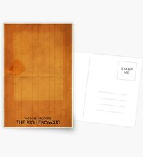 The Big Lebowski Minimal Poster Postcards