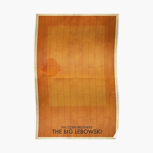 The Big Lebowski Minimal Poster Poster