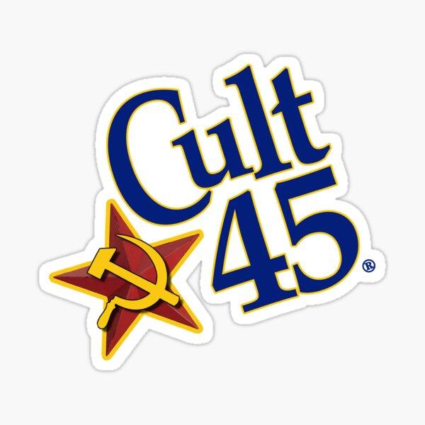 Cult 45 Sticker