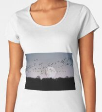 Guided by the Moon Women's Premium T-Shirt