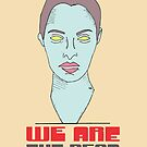 We are the Dead (red) by katherine montalto