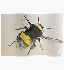 Fly High Little Bee Poster
