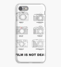 Film Is Not Dead - Vintage Film Photography iPhone Case/Skin